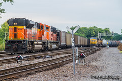 BNSF 8785 | EMD SD70ACe | BNSF Thayer South Subdivision