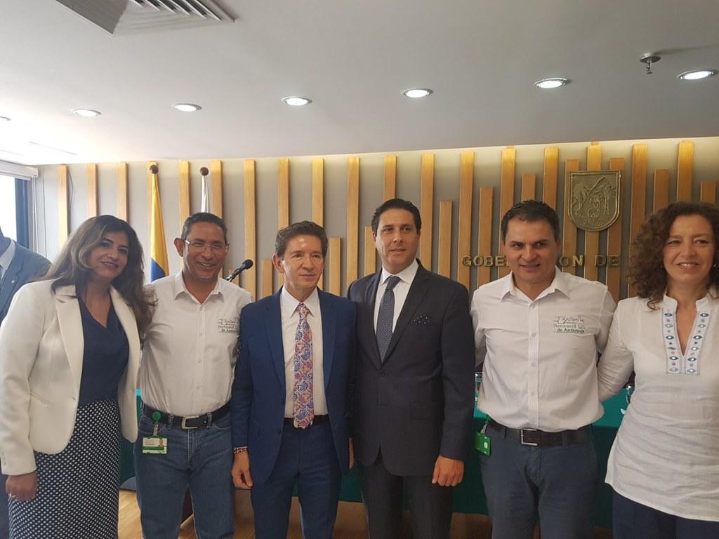 Suscripción del contrato de consultoría para la estructuración integral del proyecto reactivación del Sistema Férreo de Antioquia