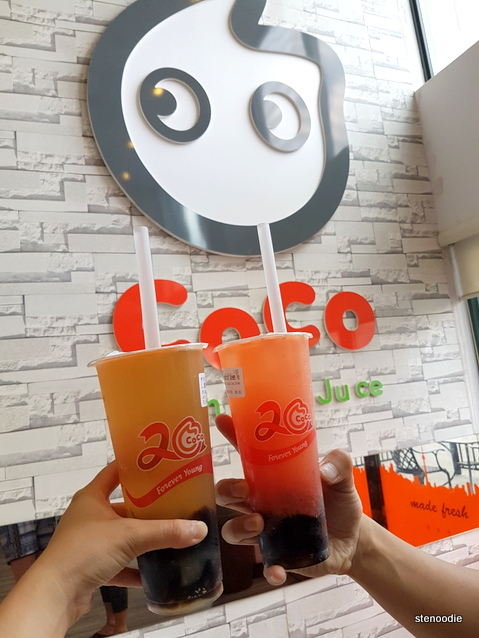 CoCo Fresh Tea & Juice drinks