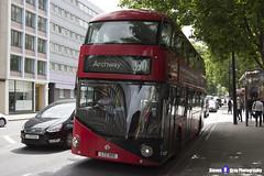 Wrightbus NRM NBFL - LTZ 1105 - LT105 - Archway 390 - Metroline - London 2017 - Steven Gray - IMG_1299