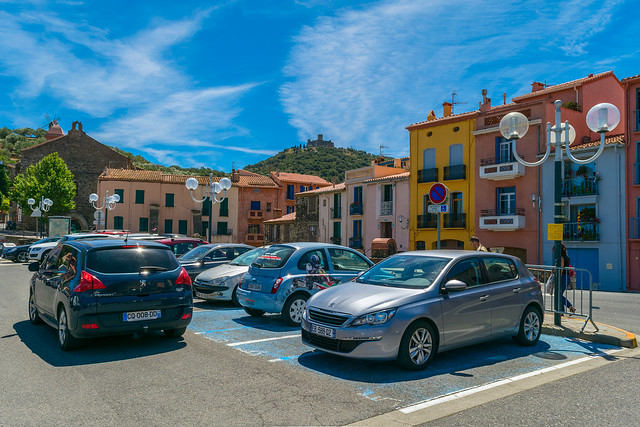 Collioure. France, Nikon D5300, AF-S DX Nikkor 18-55mm f/3.5-5.6G VR II