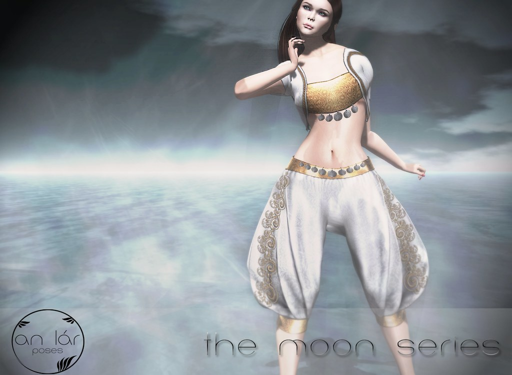 an lár [poses] The Moon Series - SecondLifeHub.com
