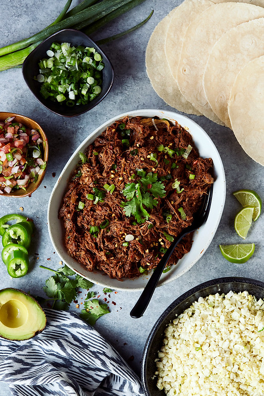Slow Cooker Shredded Beef Recipe – Three Ways {Paleo, Gluten-free}