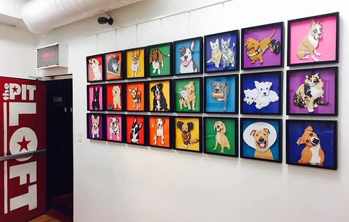 Emmanuel Jose's Rescue Pet Portrait Art Exhibit