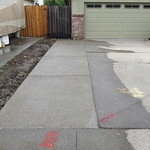 Exposed Aggregate Driveway Extension In Davis