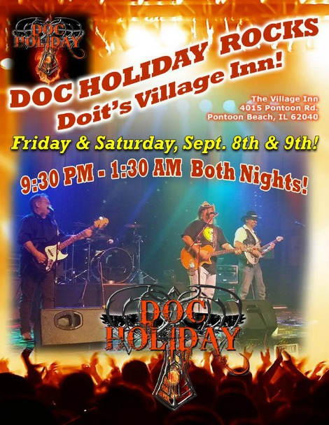 Doc Holiday 9-8, 9-9-17