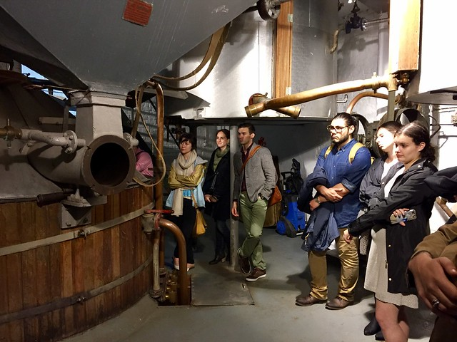 US Grantees Enjoying a brewery tour in Belgium
