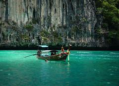 Seascape of Koh Phi Phi, Thailand