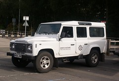 Dorset & Wiltshire Fire & Rescue Service Land Rover Defender