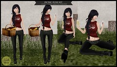 :North Moon: Pinic Pose Set- MP L$10 PROMO