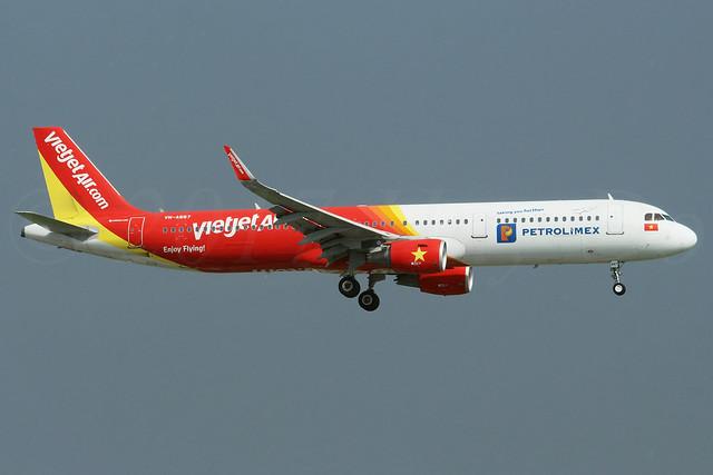 Airbus A321-211(SL) VietJet Air VN-A667