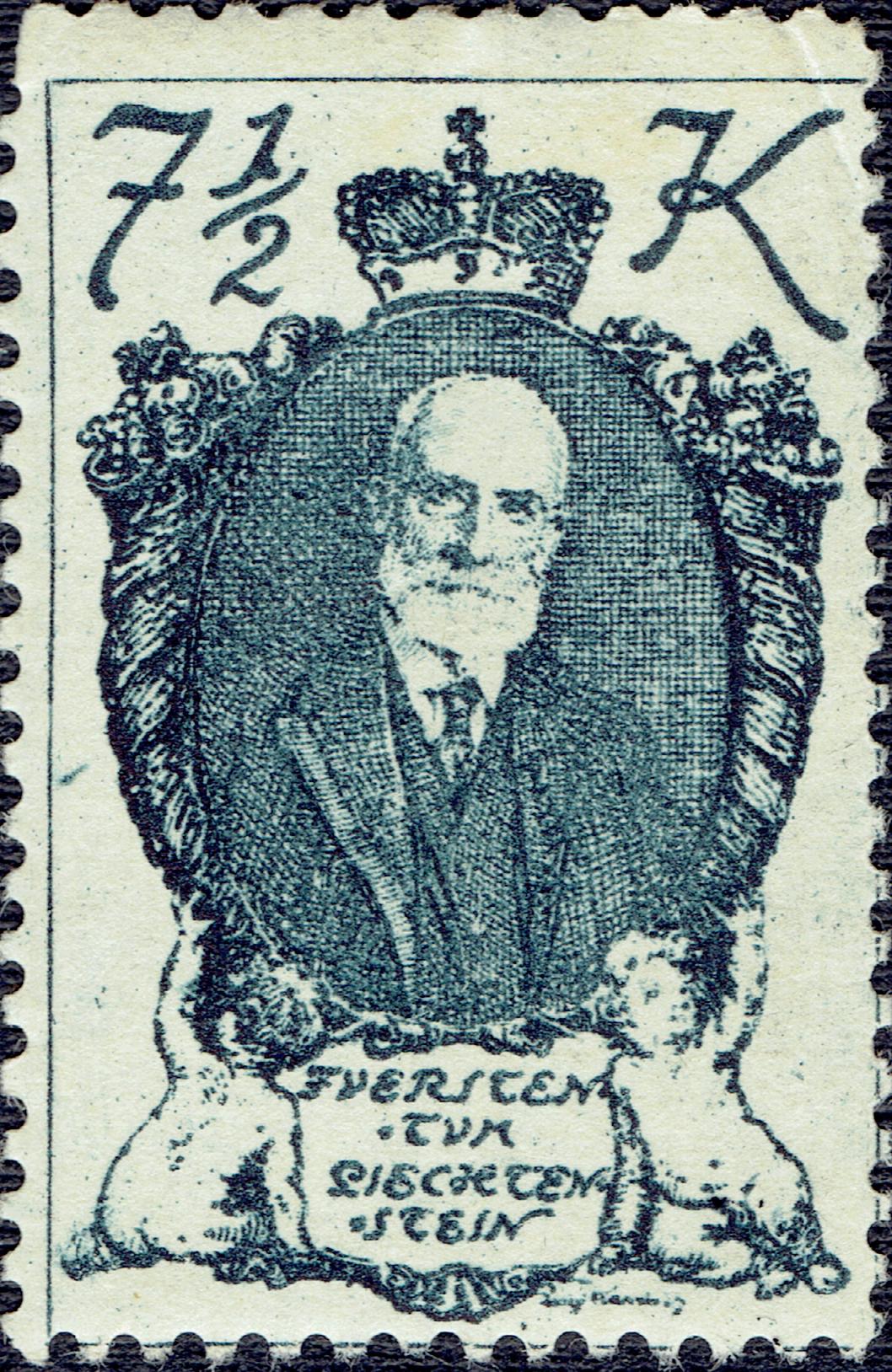 Liechtenstein #45 (1920)