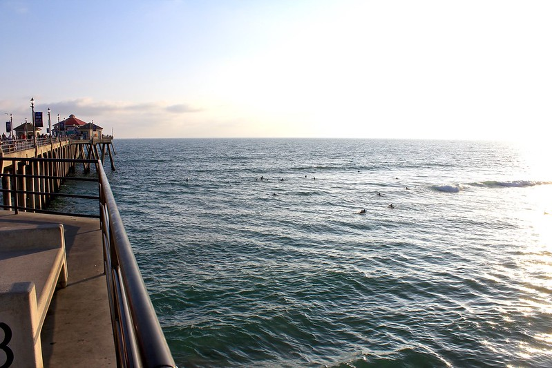 The Pier and The Surfers