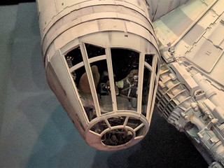 Millennium Falcon Model Cockpit Detail