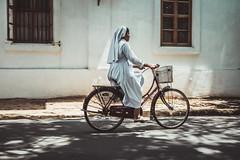 Indian Nun - Pondicherry
