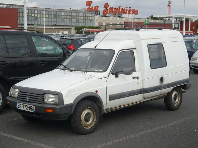 Citroen visa de 1984 for Garage citroen laxou