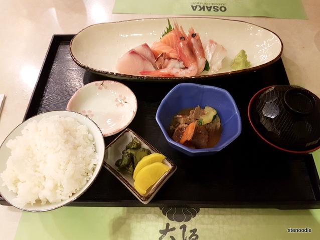 Sashimi Set (魚生全餐)