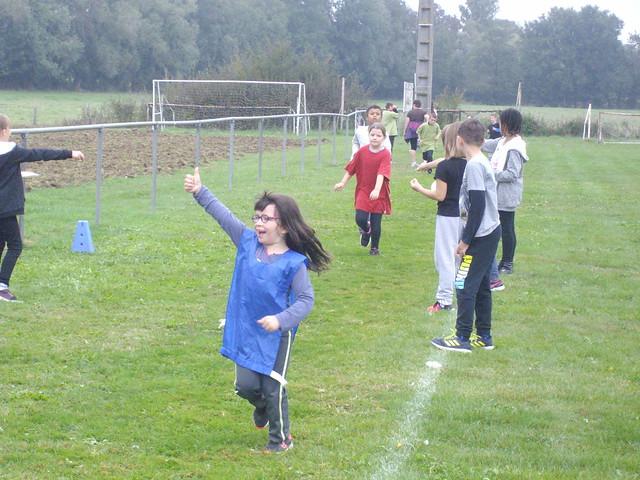 Course coopérative pour les élèves des écoles de Saint-Jean sur Reyssouze et de Mantenay