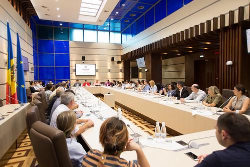 13.09.17 Întrevedere Comisia protecție socială, sănătate și familie cu un grup de medici