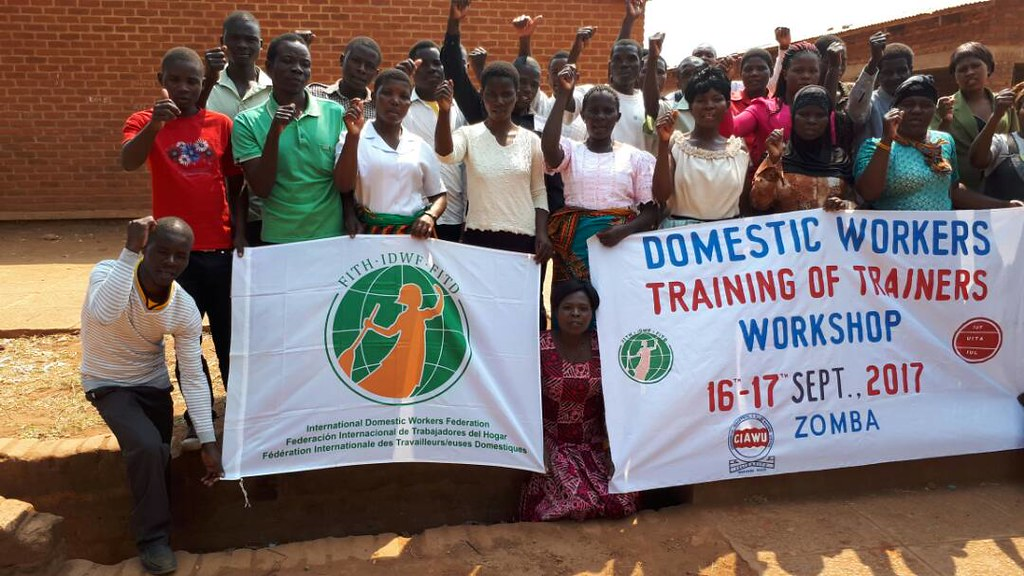 2017-9-16~17 Malawi: ToT Workshop for domestic workers
