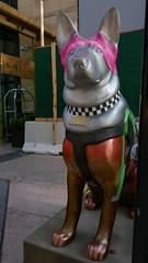 """K9s for Cops Public Art Campaign - """"Scrappy"""" by Erika Vazzana"""