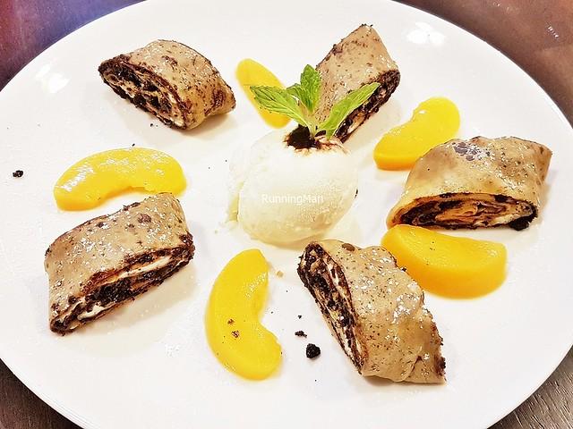 Cocoa Pannenkoek Rolls