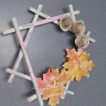 Recycled Book Wreaths