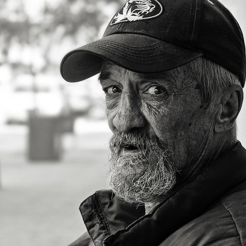 Portraits on 9th Street bw - XT2X0382