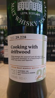 SMWS 29.228 - Cooking with driftwood