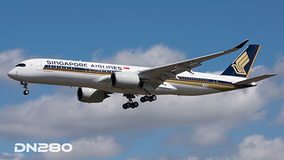 Singapore A350-941 msn 140
