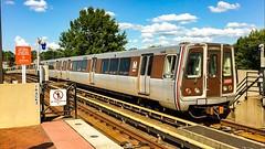 WMATA Metrorail Alstom 6000 Series Railcars