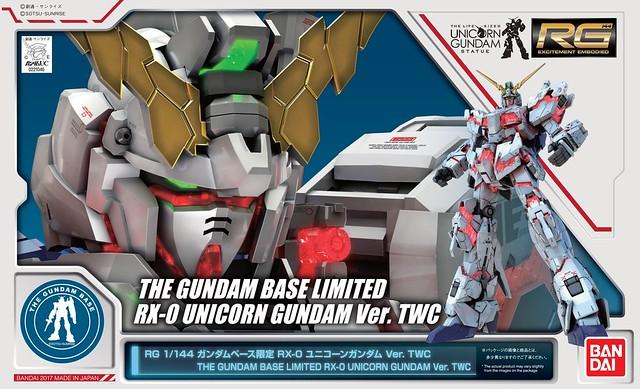 RXO Unicorn Gundam TWC -Gundam Base Limited