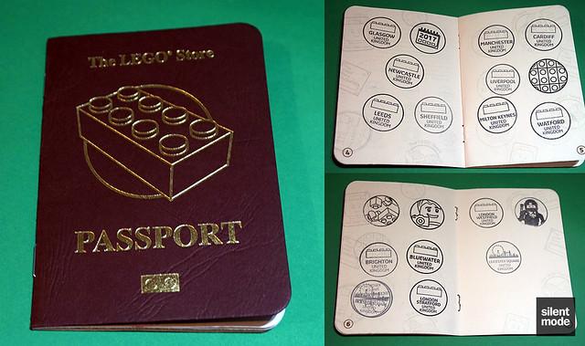 Lego Store Passport.
