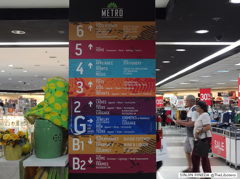 Metro Department Store Ayala Center Cebu