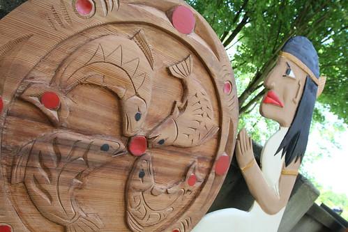 Canada 150+ Cedar Carving Project