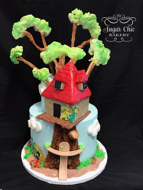 Lost Boys Tree House Cake by Sugar Chic Bakery