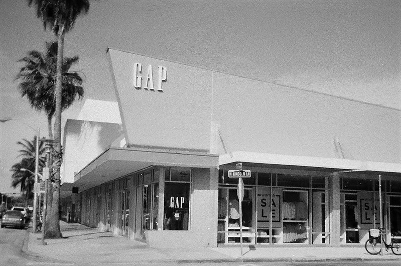 Gap Store South Beach Now Demolished