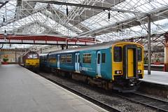 DB Schenker 67020 & Arriva Trains Wales Sprinter 150208