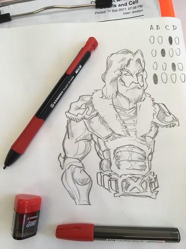 Stabilo Exam Grade Sample sketches