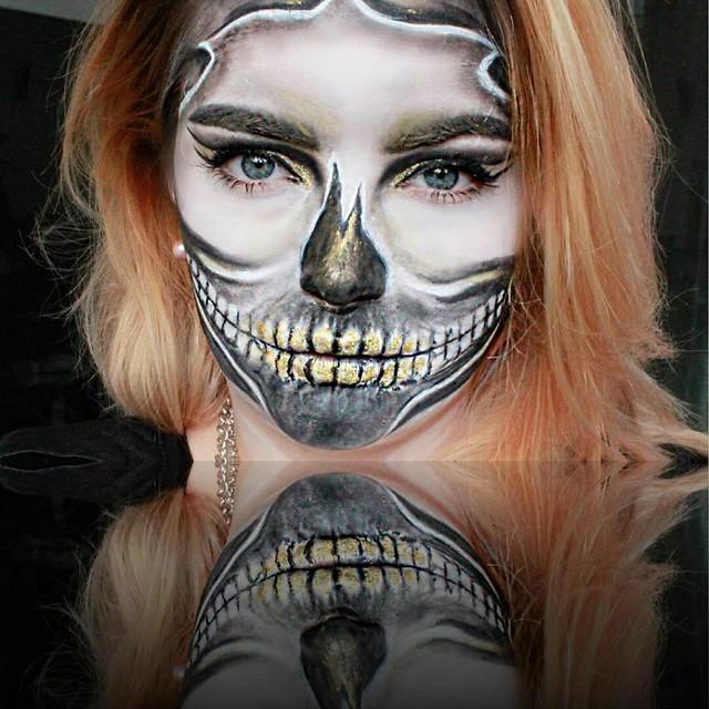 Makeup Ideas for Halloween  Makeup by @mrs_zarro_