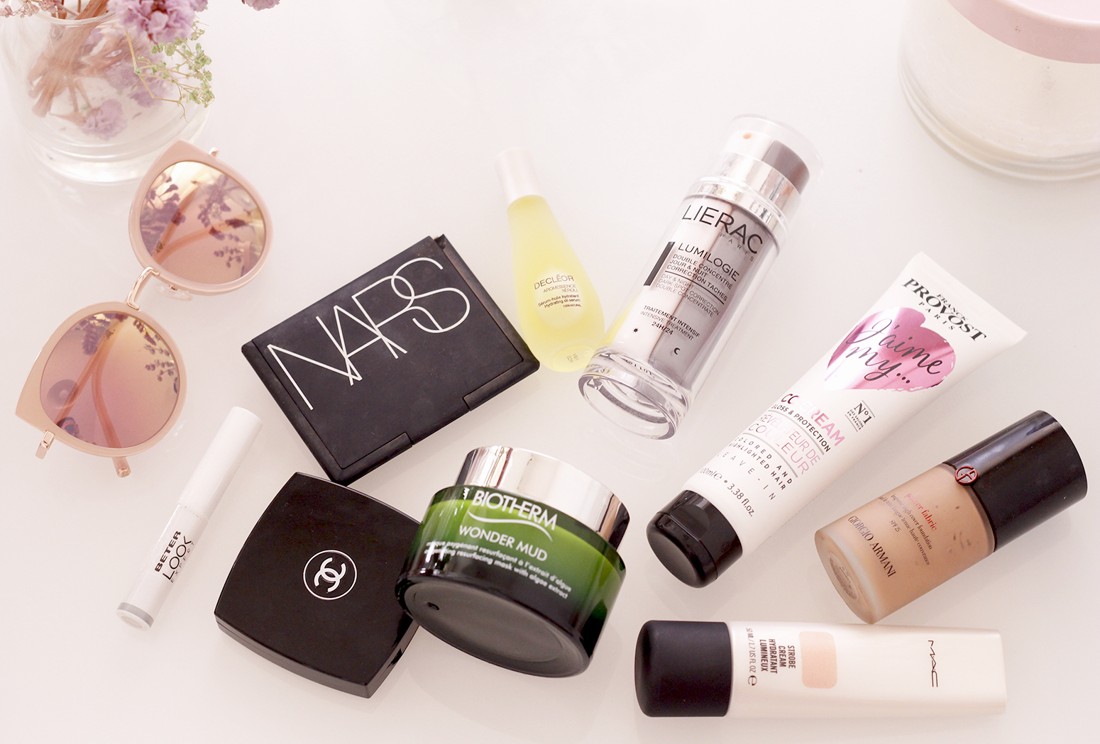 mejores productos de belleza best beauty products nars biotherm chanel NYX Mac5