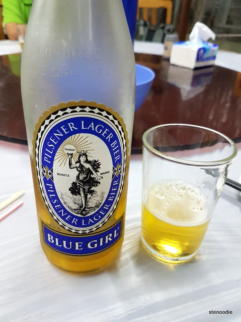 Blue Girl beer