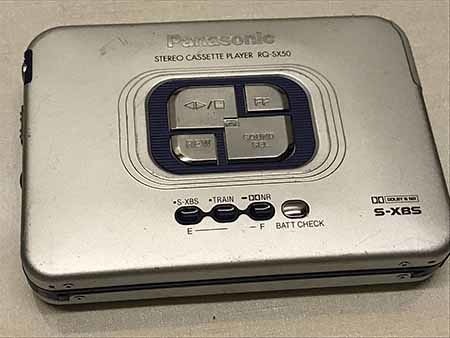 Panasonic RQ-SX50 CASSETTE PLAYER