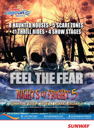 Sunway Lagoon's Nights of Fright 5