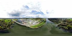 Isarmündung panorama