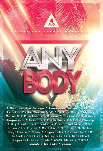 anyBody - August 4th 2017