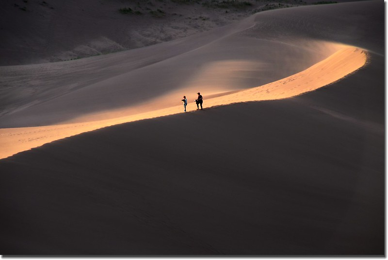 Dusk at Great Sand Dunes National Park  (23)