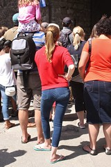 Pembroke Castle Gatehouse - July 2017 - Queueing Candid
