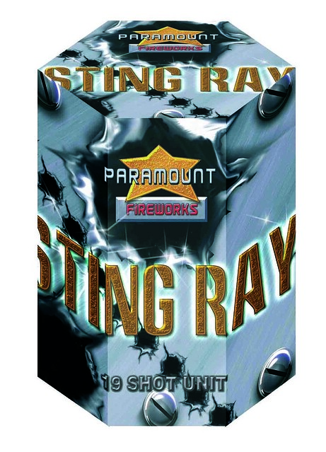 Sting Ray 19 Shot Barrage #EpicFireworks