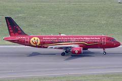 Brussels Airlines Airbus 320-214 OO-SNA (c/n 1441) Belgian Red Devils-logojet.
